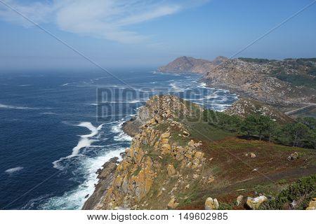 Image of Cies Islands in Vigo, Spain