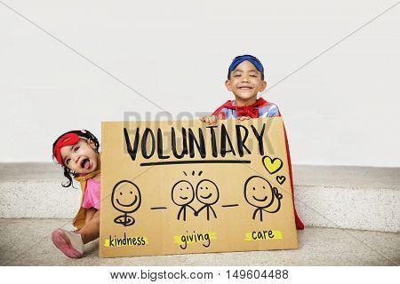Charity Donations Fundraising Nonprofit Volunteer Concept