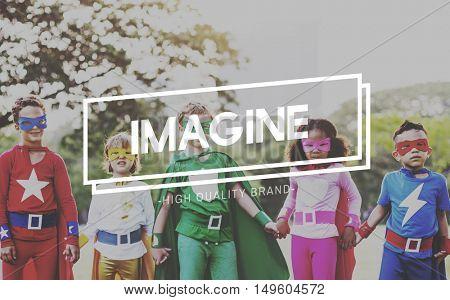 Imagine Imagination Creativity Ideas Vision Concept
