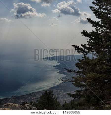 Landscape On The Island Of Kefalonia