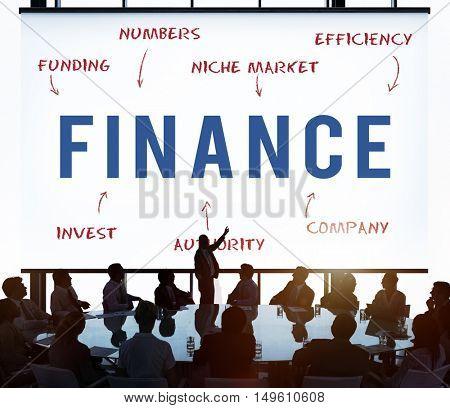 Finance Business Company Strategy Marketing Concept