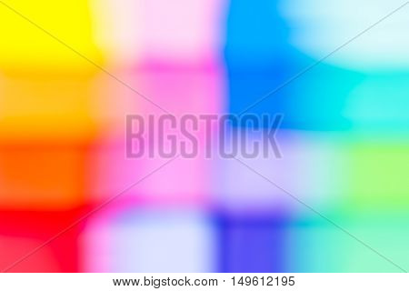 Colorful blurred abstract background / backdrop / texture