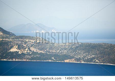 Landscape On The Island Of Kefalonia