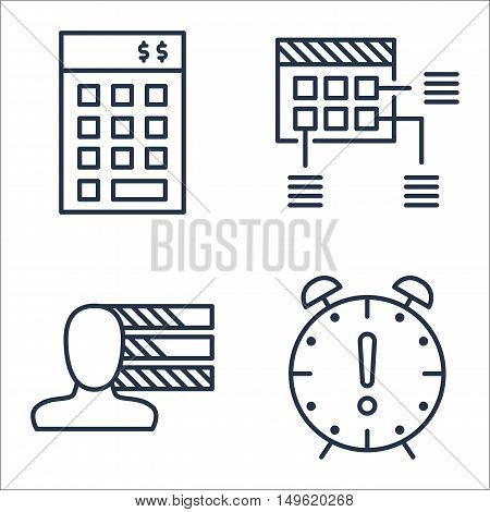 Set Of Project Management Icons On Personality, Investment, Planning And More. Premium Quality Eps10