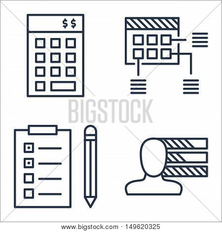 Set Of Project Management Icons On Investment, Planning, Task List And More. Premium Quality Eps10 V
