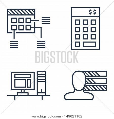 Set Of Project Management Icons On Planning, Personality, Investment And More. Premium Quality Eps10