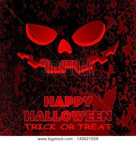 halloween greeting card vector illustration clip-art EPS10