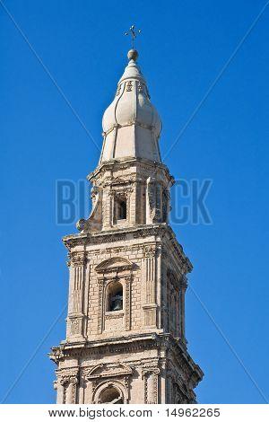 Belltower Cathedral. Monopoli. Apulia.