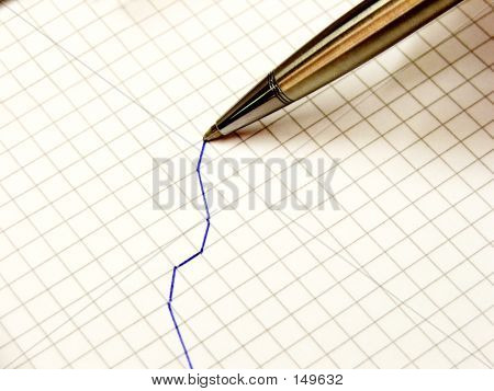 Stationary - Graph And Pen