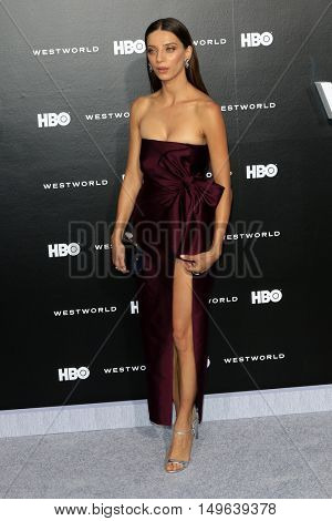 LOS ANGELES - SEP 28:  Angela Sarafyan at the HBO's