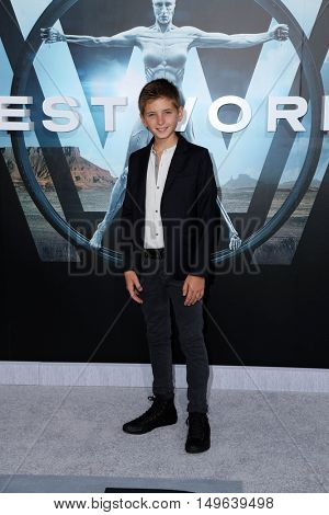 LOS ANGELES - SEP 28:  Oliver Bell at the HBO's