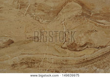 brown marble with white veins and lines