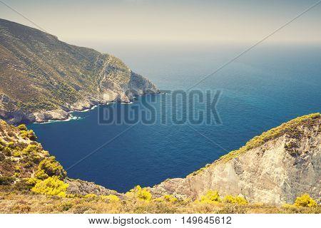 Navagio Bay. Greek Island Zakynthos