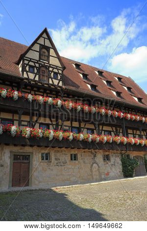 The 15Th Century Alte Hofhaltung In Bamberg