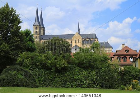 St. Michael's Church Of Michaelsberg Abbey In Bamberg, Bavaria, Germany