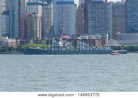 Uss Bainbridge At Fleet Week