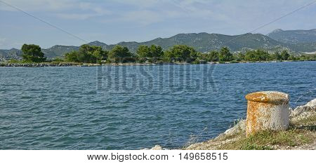 A peaceful stretch of Croatian coast near the village of Blace in Dubrovnik-Neretva County.