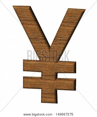 The Letter Designation Of The Currency Of China - Yuan