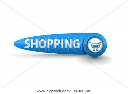 Vector Shopping Button