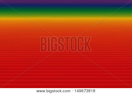 Abstract Spectrum Gradient Lines Background 3D Illustration