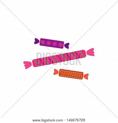 Candy Icon Vector. Flat simple color pictogram
