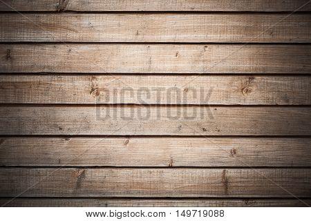 Background Texture Of Dark Wooden Wall