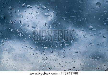 window water rain raindrop drop day fragility nature sky season