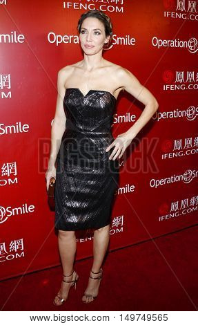 Whitney Cummings at the 2016 Operation Smile's Annual Smile Gala held at the Beverly Wilshire Hotel in Beverly Hills, USA on September 30, 2016.