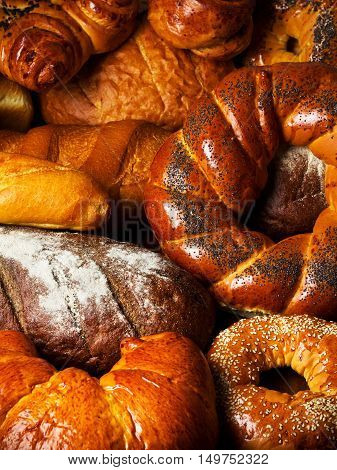 Arrangement With Bakery Products