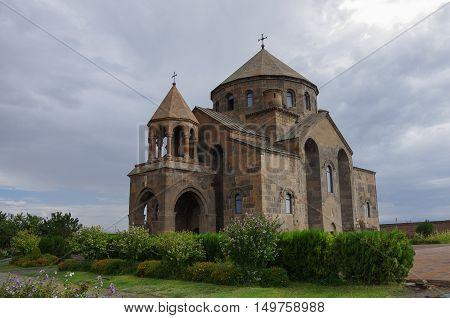Saint Hripsime Church, Medieval Unesco List Church In Echmiadzin, Armenia