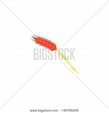 Spica Icon Vector. Flat simple color pictogram