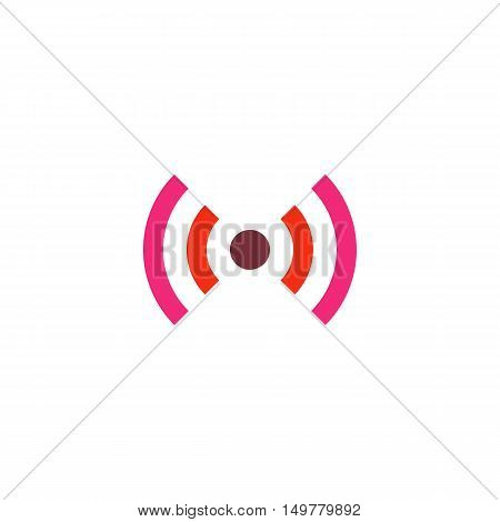 WiFi Icon Vector. Flat simple color pictogram