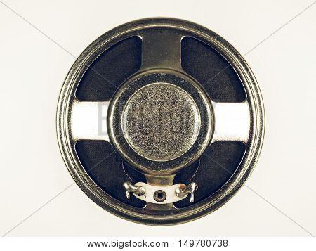 Vintage Looking Loud Speaker