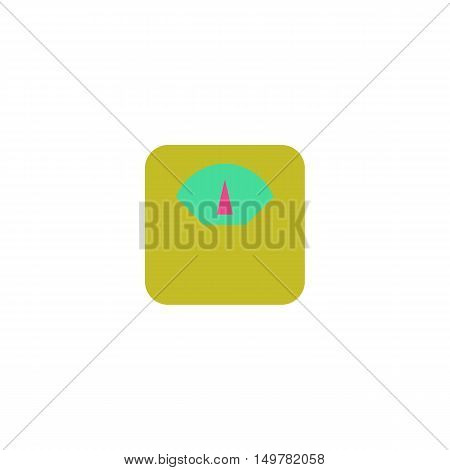 Scales Icon Vector. Flat simple color pictogram