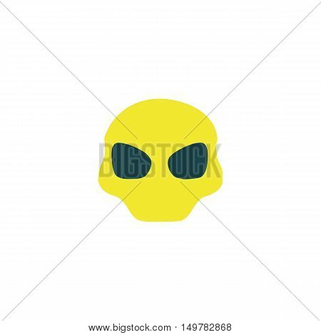 Mask Icon Vector. Flat simple color pictogram