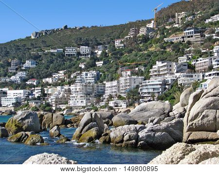 Clifton, With Boulders In Fore Ground, Cape Town South Africa 01aa