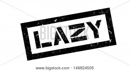 Lazy Rubber Stamp