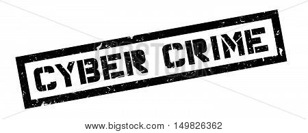Cyber Crime Rubber Stamp