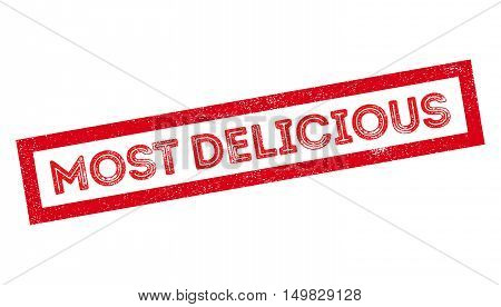 Most Delicious Rubber Stamp