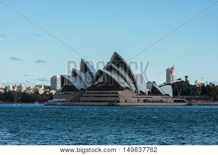 Sydney Opera House NSW Australia.Oct 02,2016 Sydney Opera House is one of the modern building, well known worldwide.