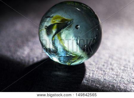 colorful glass marbles studio macro closeup high definition
