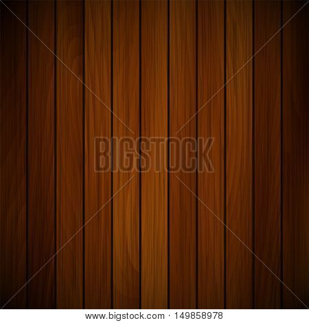 Vector wood plank, red and brown texture background illustration
