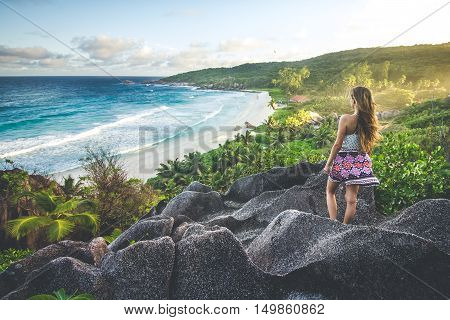 Amazing Viewpoint On Seychelles
