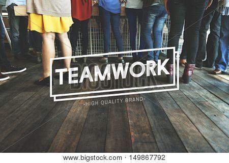 Teamwork Dreamwork Alliance Cooperation Unity Concept