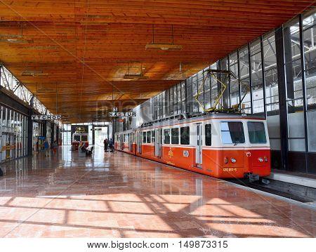 Strba Cog Railway Station