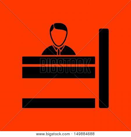 Bank Clerk Icon