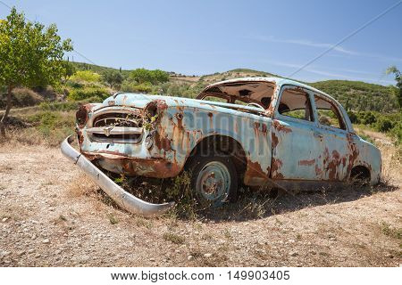 Old Abandoned Rusted Retro