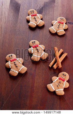 lovely gingerbread man - sweet food