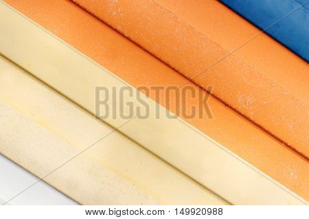 Colorful Awnings Texture