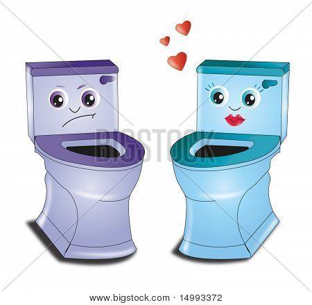 In Loved Toilet